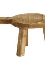 """9.5"""" x 6.5"""" Wood Pedestal"""
