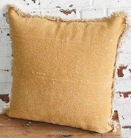 """20"""" Mustard Pillow"""