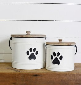 Paw Print Can