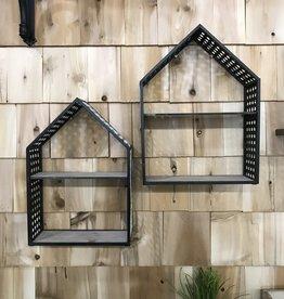 Metal Mesh House Shelf