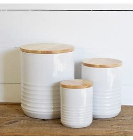 Set of 3 decorative Cannisters