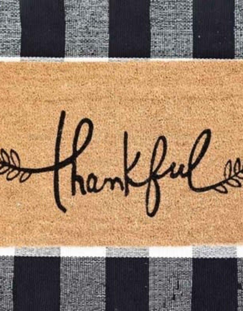 Thankful Door Mat
