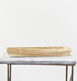 Long wood Tray