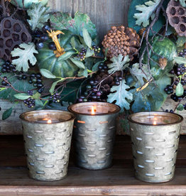 Olive Bucket Candle- multi scents