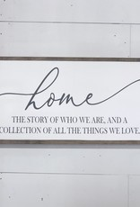 home, the story.....