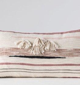 Cotton Kilim Lumbar Pillow