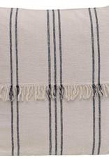"""22"""" Woven Cotton Mudcloth Pillow"""