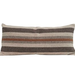 Cotton & Jute Lumbar pillow