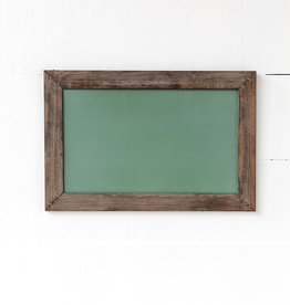Horizontal hanging Chalkboar, green