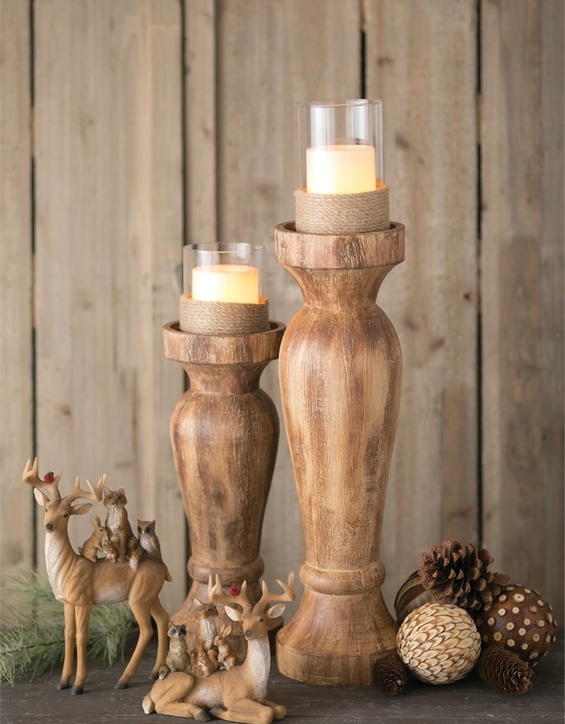 Candle Holder, Natural