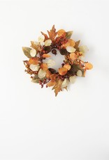 Mixed Leaf Accent Ring