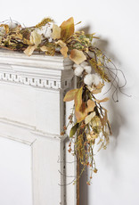 Cotton & Leaves Garland