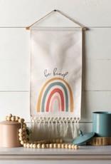 Canvas Rainbow Sign