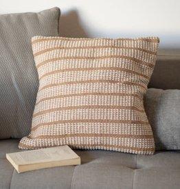 Cotton Pillow Cover, Tan