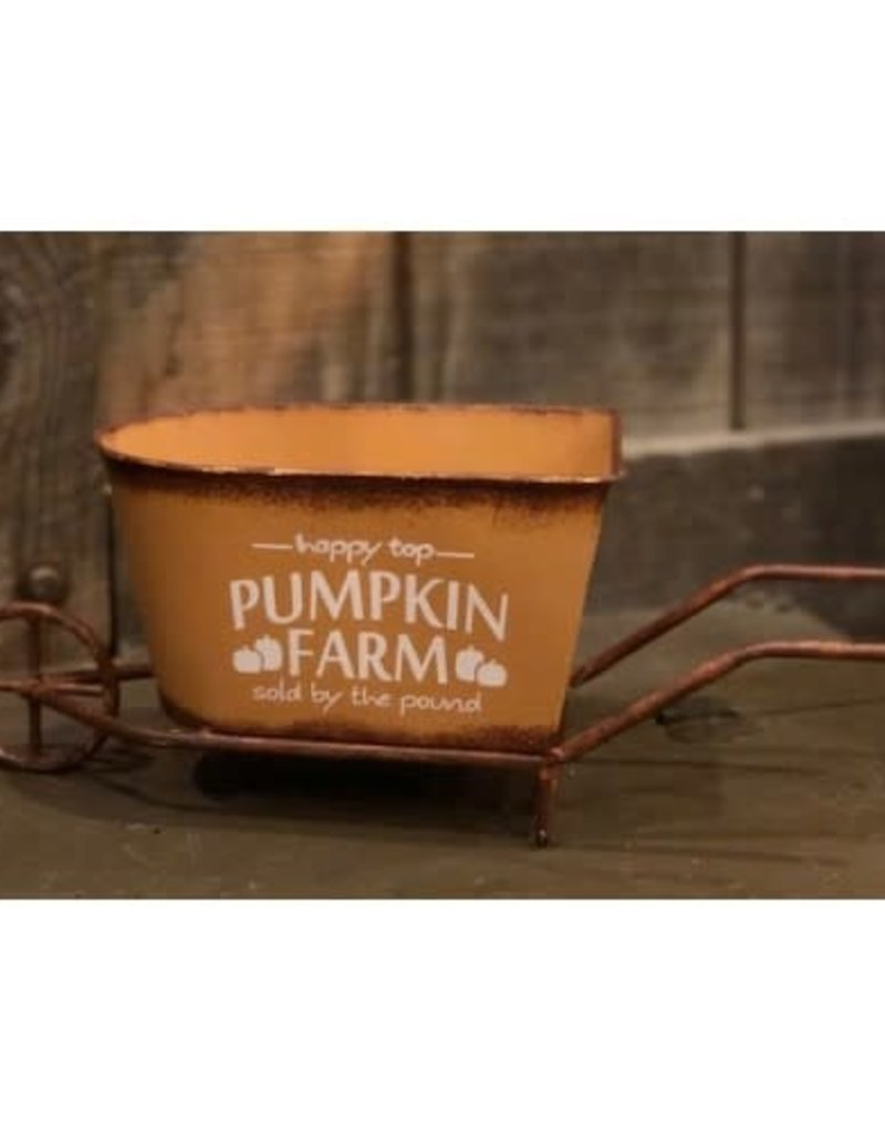 Pumpkin Farm Wheelbarrow