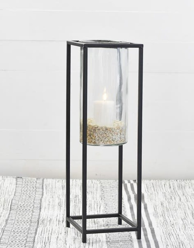 Tin Glass Windlight