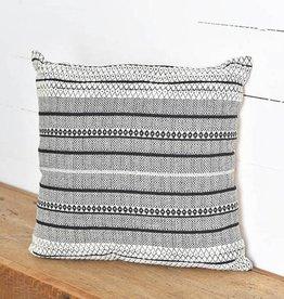 Striped Jacquard Pillow