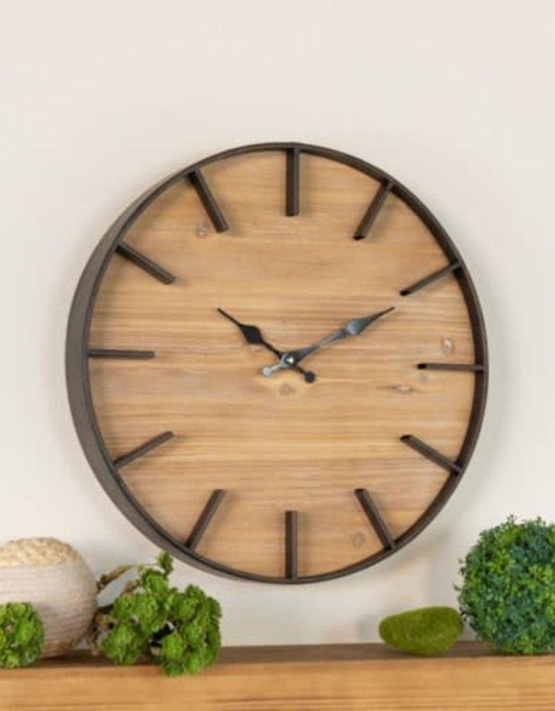 Flat Trim Metal wall Clock