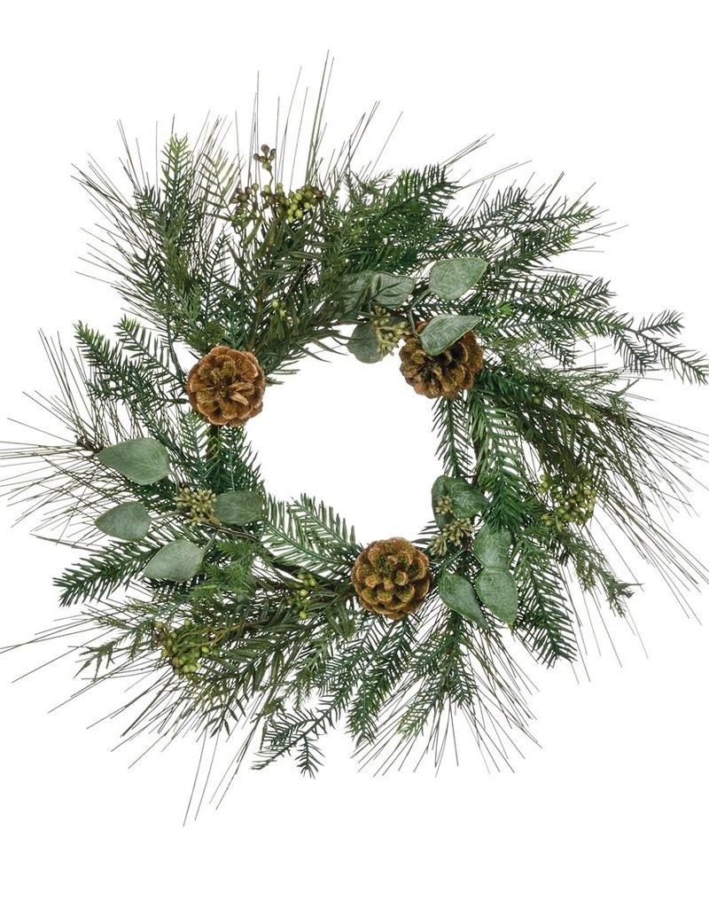 Sugar Pine Wild Woods Accent Wreath