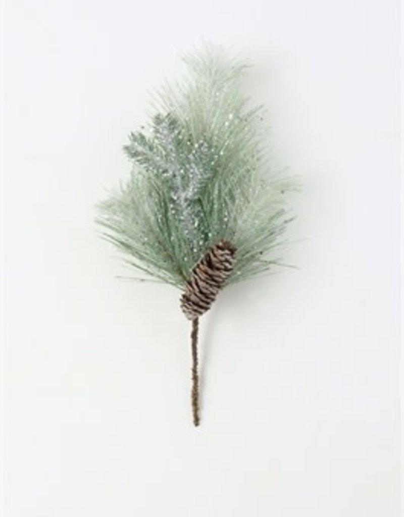 Glittered Pine Pick