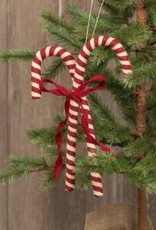 """13"""" Pair of Candy Cane Ornament"""