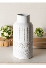 Patterned Cer Vase