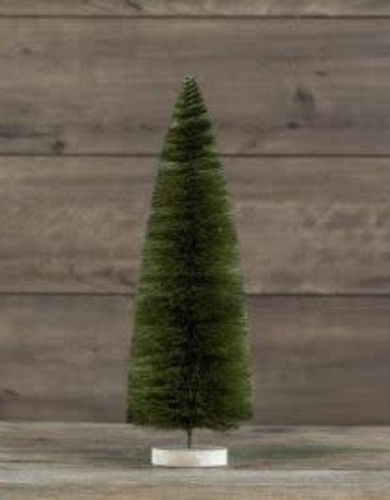 """18"""" Moss Green BottleBrush Tree"""