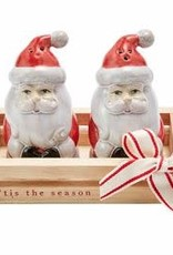 Santa Salt and Pepper Shakers