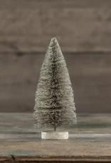 "8"" Grey Taupe Bottlebrush Tree"