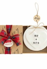 2020 Stamped Mr Mrs Ornament