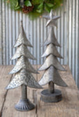 Aged Tinwork Tree