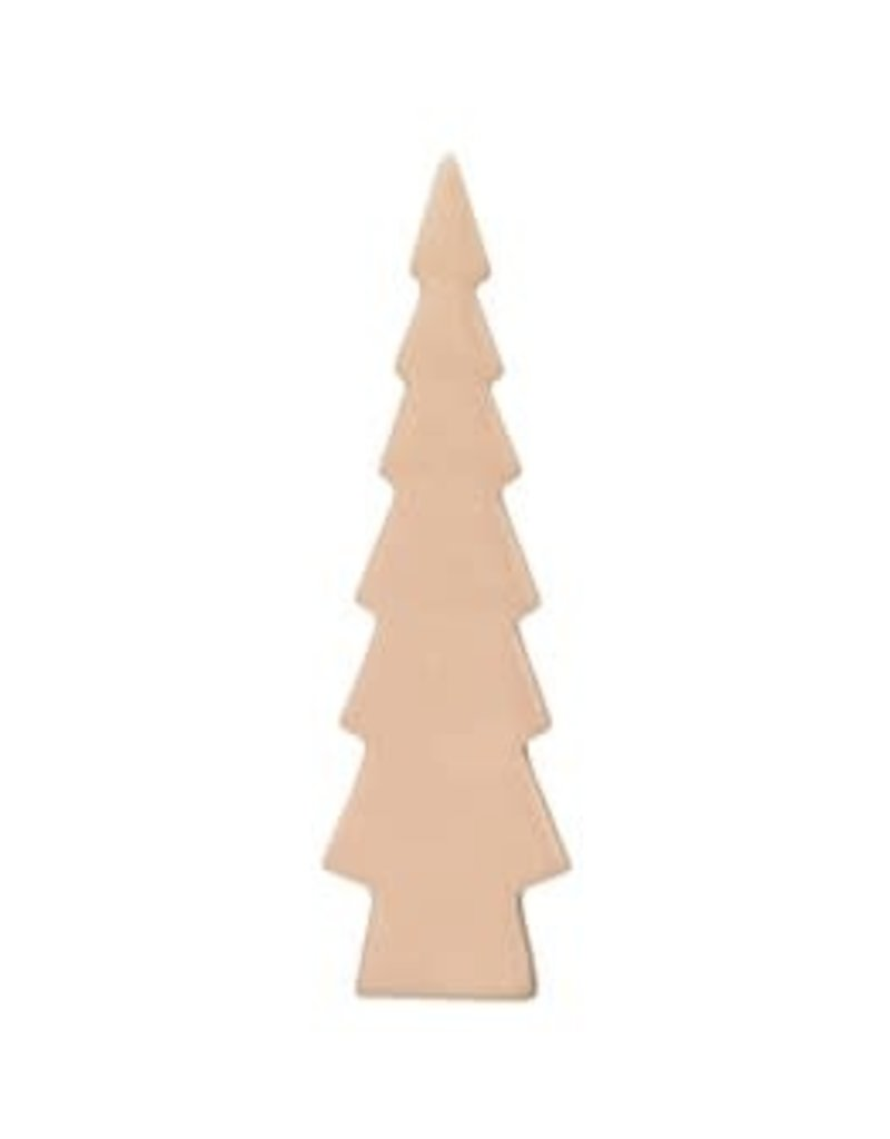 Stoneware Tree, Pink, Varies sizes