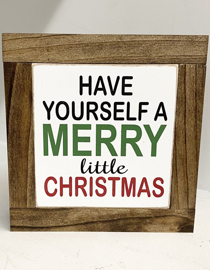 Have yourself a merry..... baby sign