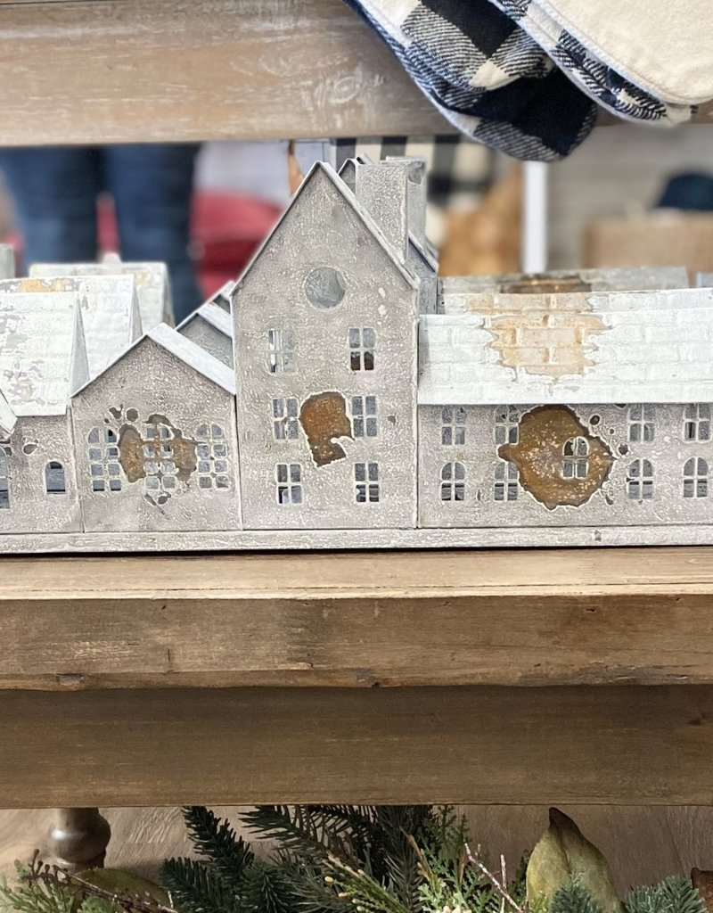 Tin Houses Candle Holder