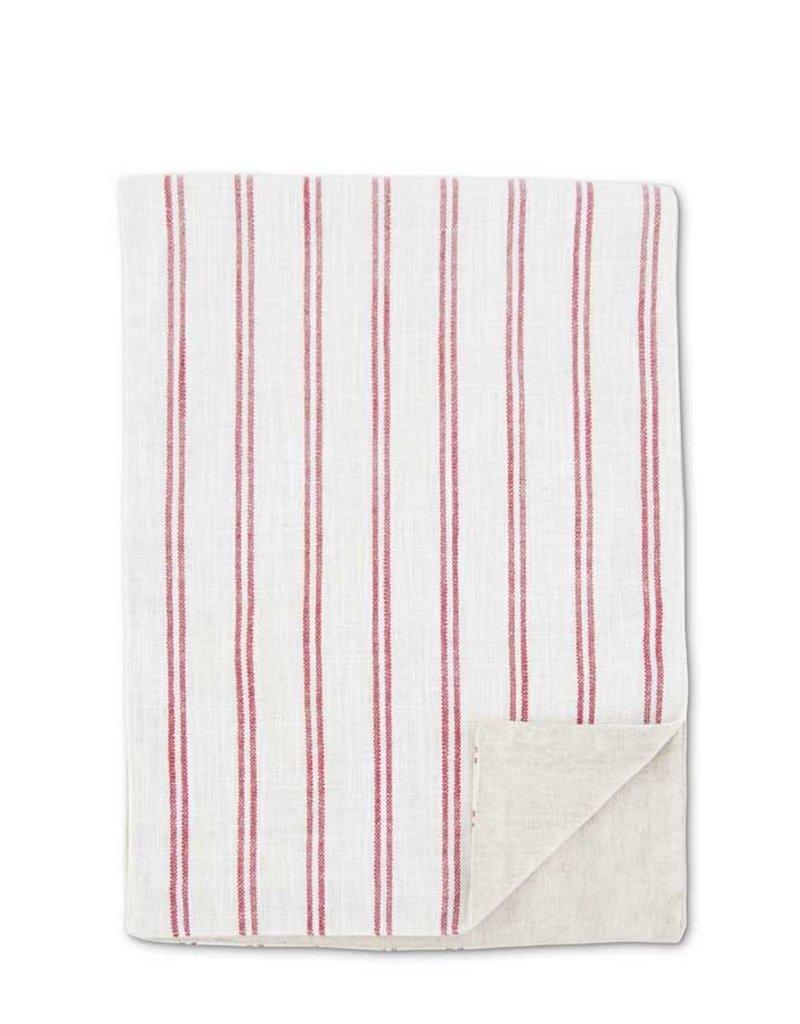 70 Inch Cream w/Red Stripe Runner