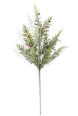 """24"""" Pine Pepper Berry Real Touch Stem"""