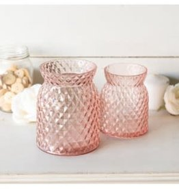 Pink, Glass Canisters
