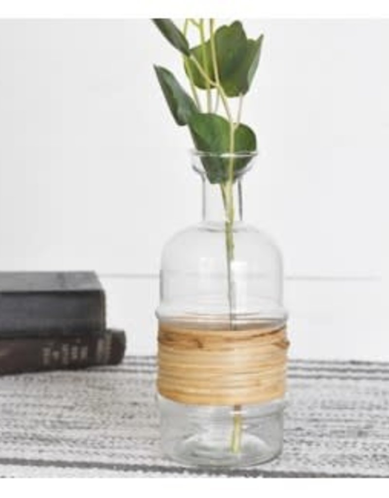 Bottle with Bamboo