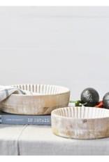 Washed wood Bowls