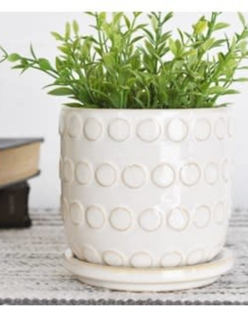 Ceramic Dot Pot