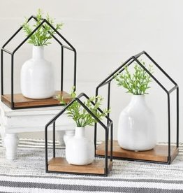 S/3 Hut Shape Shelf