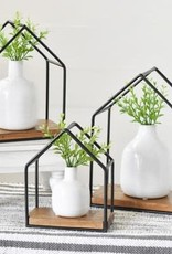 S/3 Hut Shape Shelf