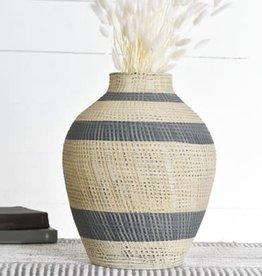 Black Beige Vase
