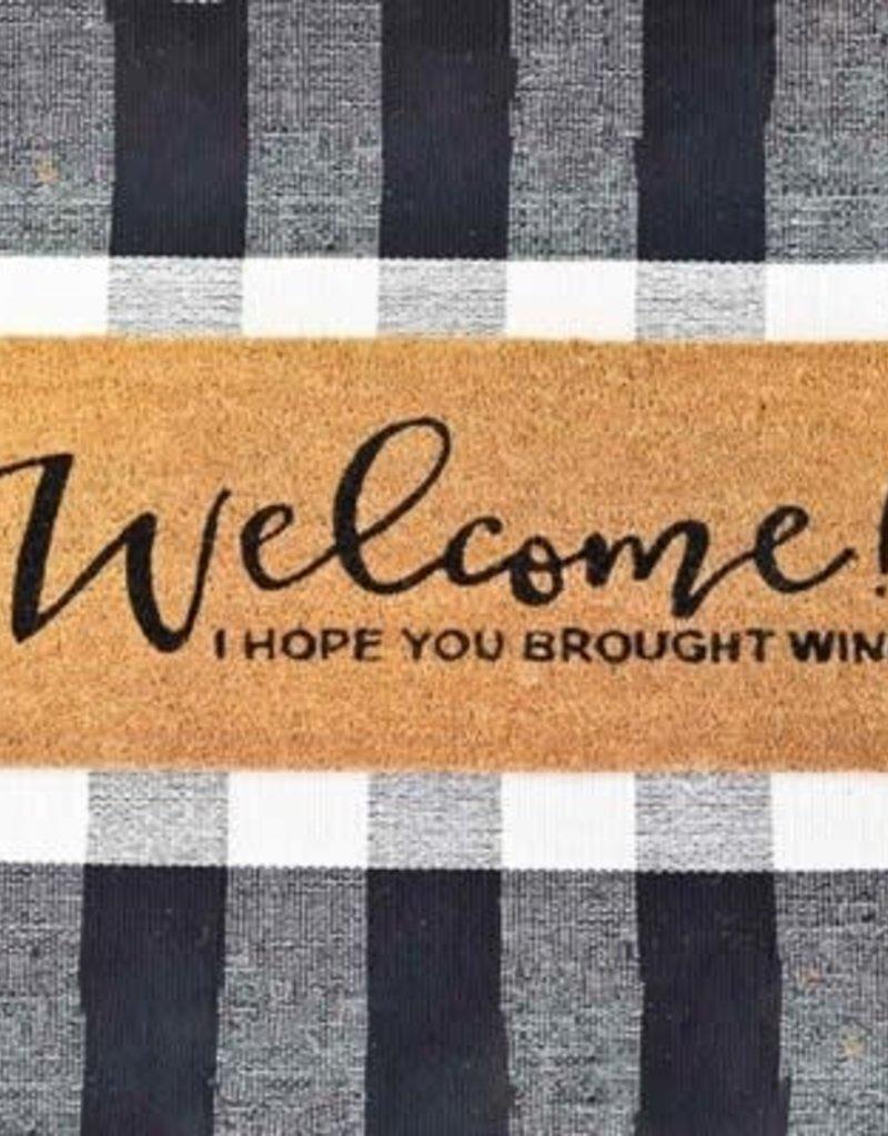 Wine Door Mat