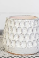 "4.5"" Dot Pattern Candle Holder"