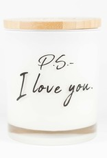 PS I Love You, Soy Candle