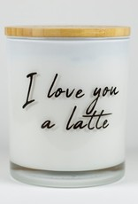 Love you a Latte, Soy Candle