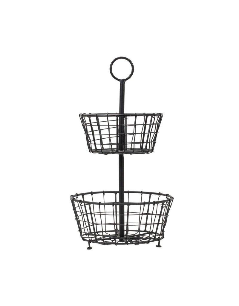 Tiered Metal Baskets