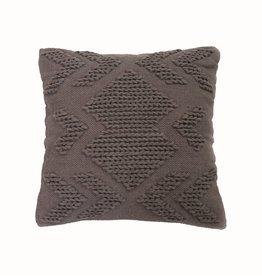 Nia Pillow, 20x20, Gray