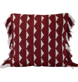 18x18 Blaise Pillow, Red